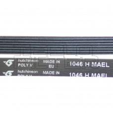 Ремень 1046 H7 длина 1000 мм, черный