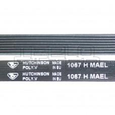 Ремень 1067 H8 длина 1000 мм, черный