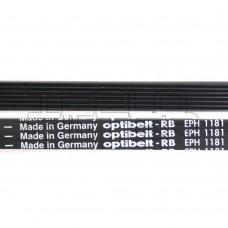 Ремень 1181 H7 длина 1141 мм, черный, optibelt