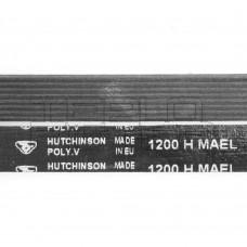 Ремень 1200 H8 длина 1125 мм, черный, hutchinson