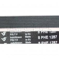 Ремень 1287 H8 длина 1198 мм, черный