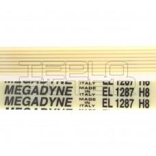 Ремень 1287 H8 длина 1222 мм, белый, megadyne