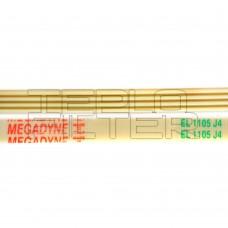 Ремень 1105 J4 длина 1008 мм, белый, megadyne