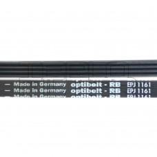 Ремень 1161 J4 длина 1109 мм, черный, optibelt