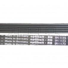Ремень 1173 J5 длина 1143 мм, черный, optibelt
