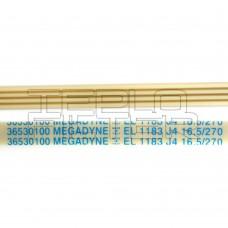 Ремень 1183 J4 длина 1111 мм, белый, megadyne