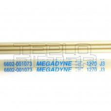 Ремень 1270 J3 длина 1270 мм, белый, megadyne