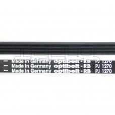 Ремень 1270 J4 длина 1275 мм, черн, optibelt